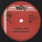Johnny Osbourne - Peaceful Man / Version (Witty / Jah Fingers) UK 12""